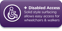 Wheelchair Friendly Safety Surfacing