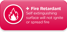 Fire Retardant - Flame Resistant Safety Surfacing