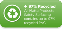 Matta Products: 97% Recycled Safety Surfacing