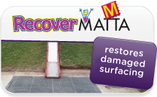 Recover Matta rejuvinates tired and worn safety surfacing
