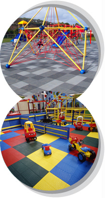 Flame Retardant Playground Surfacing from Matta Products