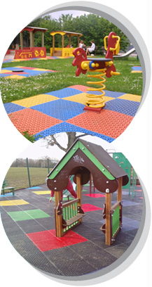 Bright & Fun Playground Surfacing from Matta Products